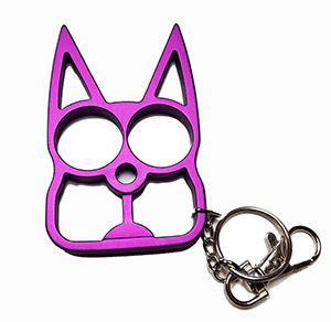 Cat Self Defense Keychain - Various colors - The Well Armed Woman 7d21d15e0e58