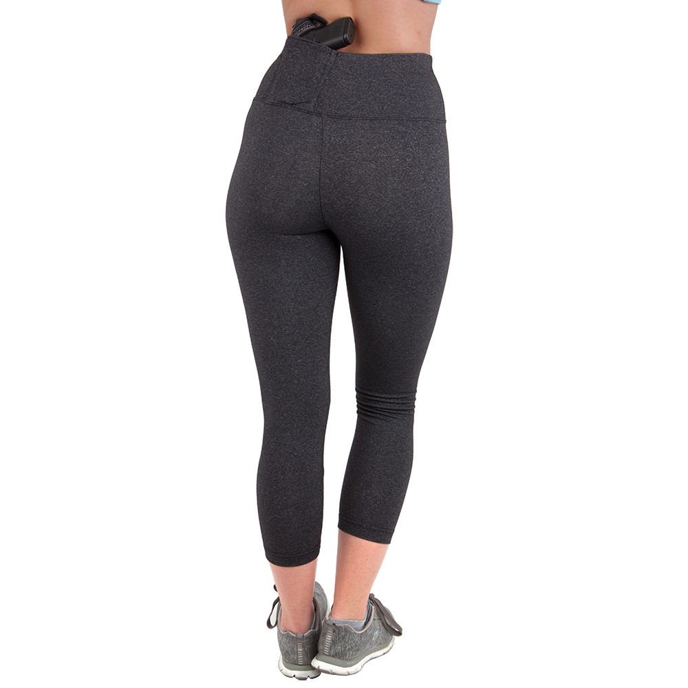 concealment leggings - cropped length - the well armed woman