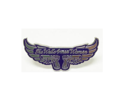 winged hat pin