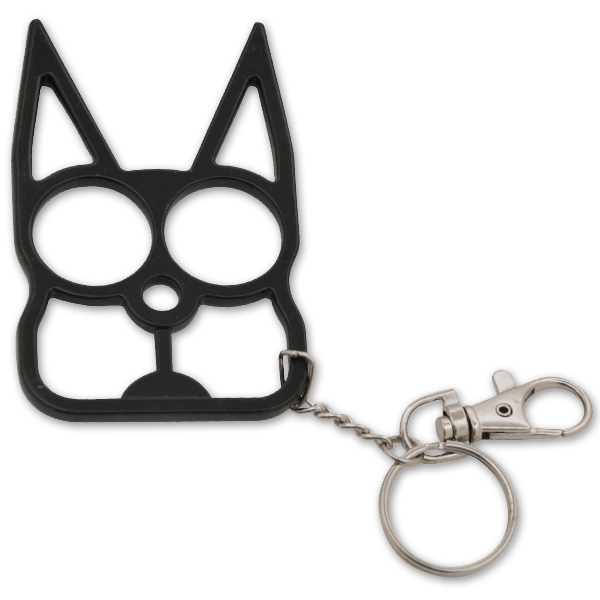 Cat Self Defense Keychain - Various colors - The Well Armed Woman 4da1af186e0f