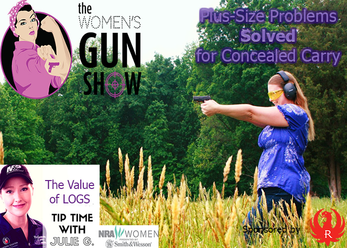 The Women's Gun Show Episode 70 – Plus-Size Problems Solved for Concealed Carry