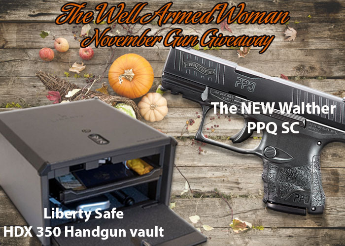 The Well Armed Woman November Giveaway 2018
